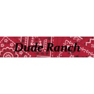Dude Ranch Buckle Martingale Collar