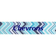 Chevron Adult D Ring Belt
