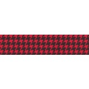 Red & Black Houndstooth