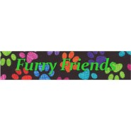 Furry Friends  Buckle Martingale Collar