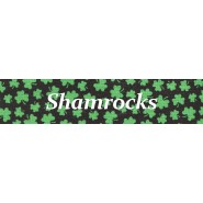 Shamrocks   Cat Collar