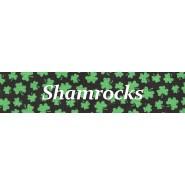 Shamrocks  Buckle Martingale Collar