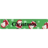 Christmas  Buckle Martingale Collar