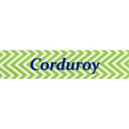 Corduroy  Key Fob