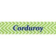 Corduroy Adult D Ring Belt
