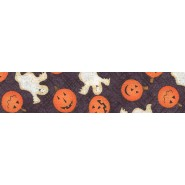 Jack O'Lanterns & Ghosts (Black)